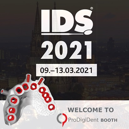 ProDigiDent at the 39th International Dental Show IDS 2021